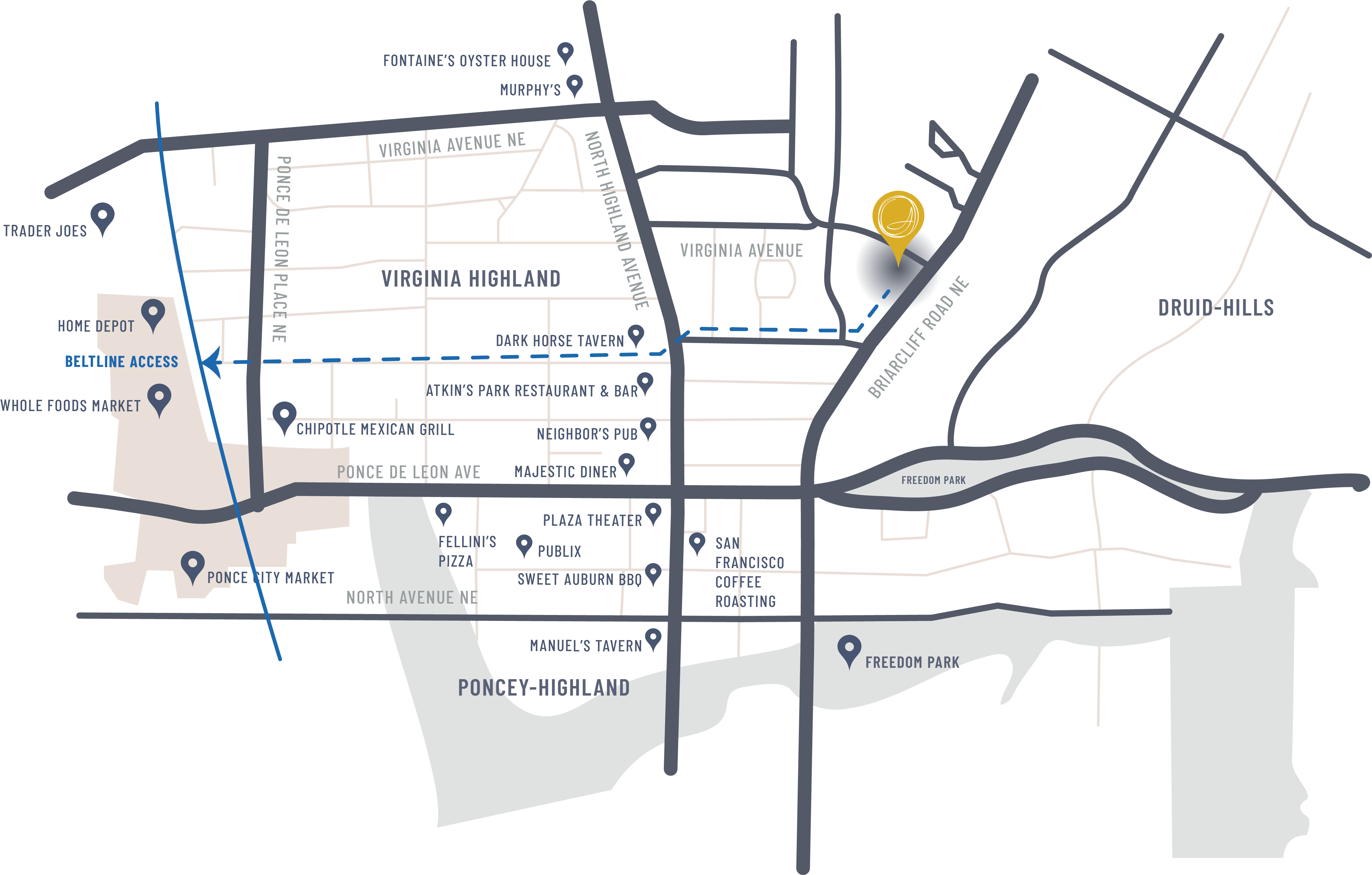 Point of Interest Map